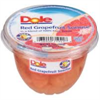 Picture of Dole Red Grapefruit Bowl w/Fork 7oz (DOL71941)