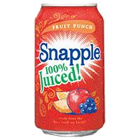 Picture of Snapple Juiced Fruit Punch 11.5oz 100% Juice (10003020)