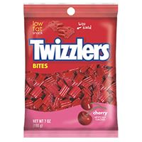 Picture of Twizzlers Nibs Cherry 6oz Bags (HEC54413)