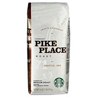 Picture of Starbucks Pike Place Ground Coffee 1lb Bag (GRD11017854)