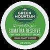 Picture of K-Cup Organic Fair Trade Sumatran Bold Green Mountain (4060)