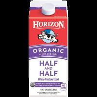 Picture of Horizon Organic Half & Half 1/2 Gallon (506950)