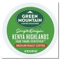 Picture of K-cup Kenyan Highland Green Mountain (GMT36878)