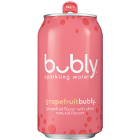 Picture of Bubly Grapefruit Sparkling Spring Water 12oz  (165053)