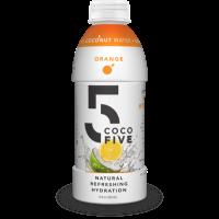 Picture of Coco5 Coconut Water Orange 16.9 oz. (004019)