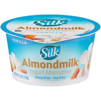 Picture of Silk Almond Yogurt Vanilla 5.3oz (198547-2)