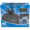 Picture of Trash Liner 55 Gallon Black Extra Heavy (440955)