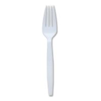 """Picture of Fork 7"""" Greenwave White Compostable PLA (735323)"""