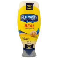 Picture of Hellmanns Mayonnaise Squeeze 25oz (MAYO)
