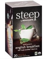 Picture of Bigelow Tea Steep Organic English Breakfast (17701)