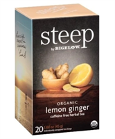 Picture of Bigelow Tea Steep Organic Lemon Ginger (17704)