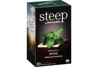 Picture of Bigelow Tea Steep Organic Mint Caff Free (17709)