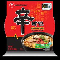 Picture of Nongshim Shin Bowl Nodle Soup 3.03oz (697059)