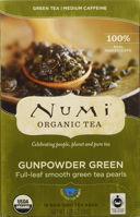 Picture of Numi Tea Gunpowder Green 6/18 (NM-GUNPOWDERRET)