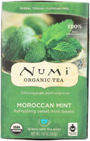 Picture of Numi Tea Moroccan Mint 6/18 (NM-MOROCMINTRET)